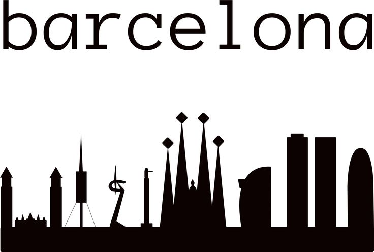 Barcelona, skyline