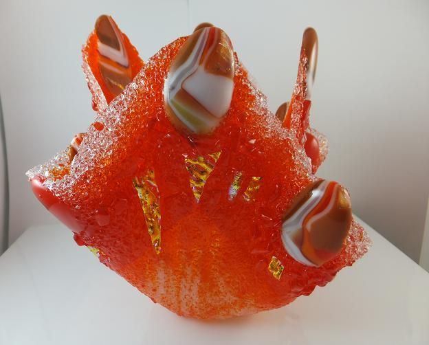 Sugar Fuse Candle Holder by Cheryl Smith