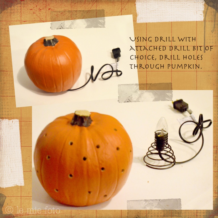 diy artificial carvable pumpkins halloween pinterest