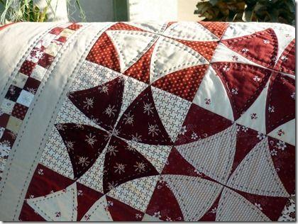 Winding Way: Bucket List, Red, Sweet, Quilt Patterns, Winding Ways Quilt Pattern, White Quilts, Quilting Idea, Block