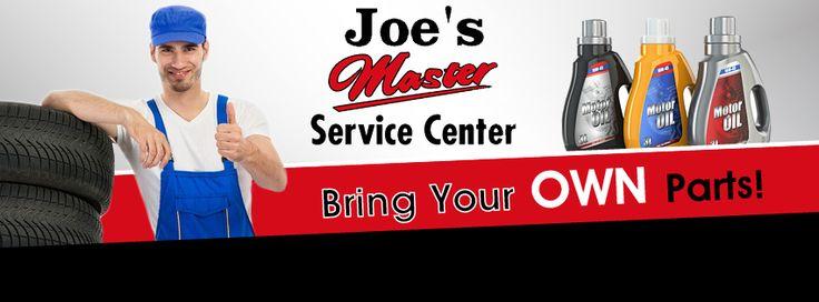 Facebook Banner for Joe's master Service Center - http://orimega.com/facebook-cover-design/