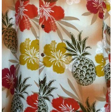chemise hawaienne ...HIBISCUS ET PINEAPPLE