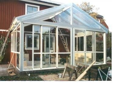 Bygga egen vinterträdgård - Växthus, uterum och vinterträdgård. - Trädgård iFokus