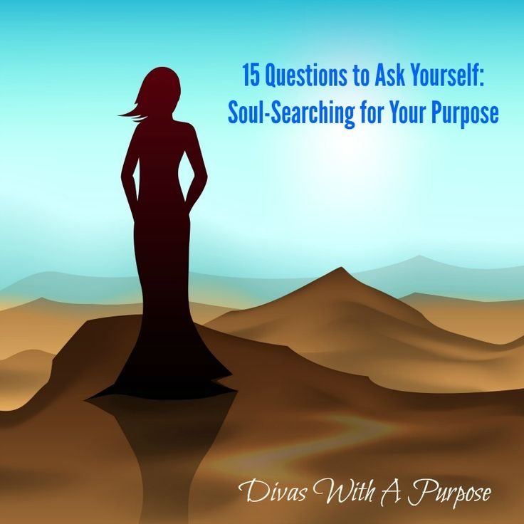 soul searching This article on soul searching - making deposits to our souls on back roads living is written by love life ministries a great devotional for the working mom.