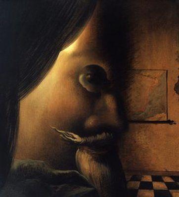 L'image disparaît, par Salvador Dali