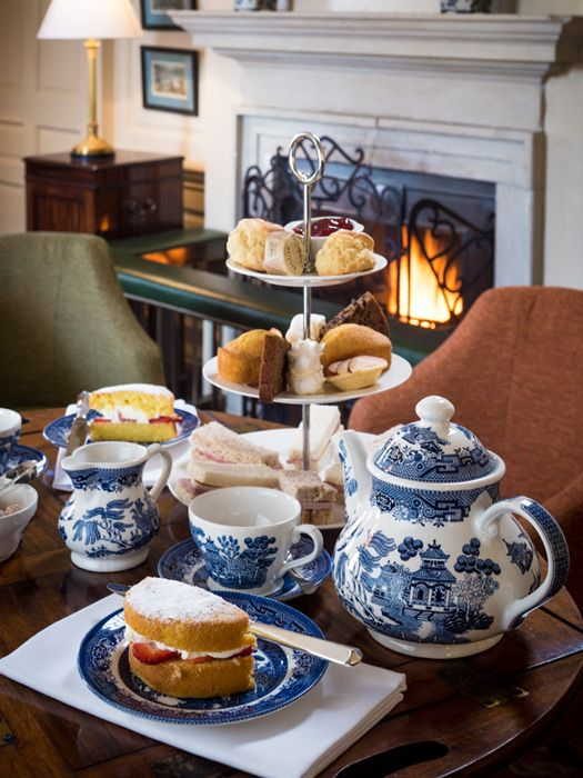 Afternoon tea at the Talbot Hotel Malton, North Yorkshire
