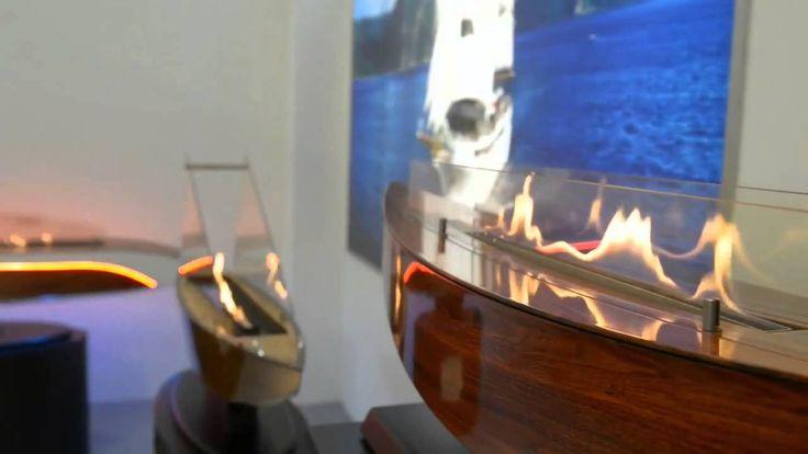 Ebios Fire - bezpieczne w użytkowaniu biokominki