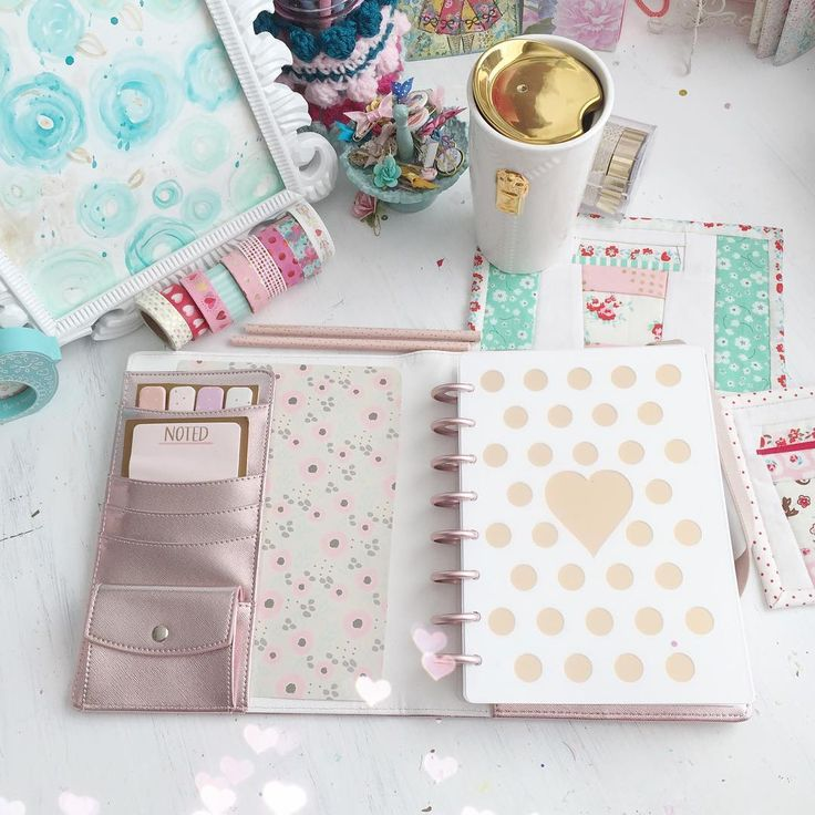 """@dokibooks Disc Agenda Rose Gold """