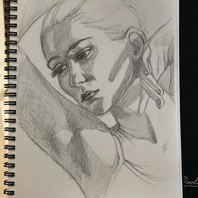 Todays quick sketch.#drawing#model#pencil#draw#woman#sketch#art#sketchbook#artist