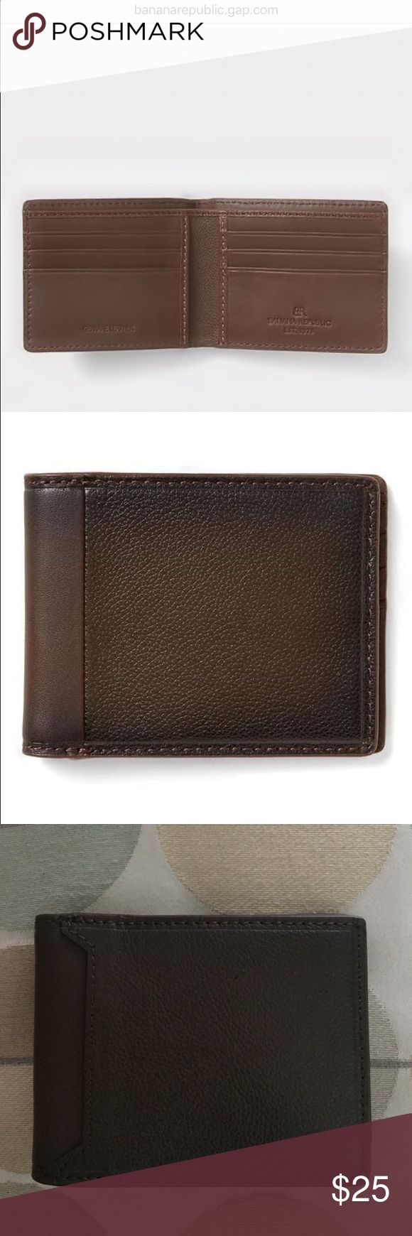 Banana Republic Mens Wallet Banana republic * 100% leather. * Imported. * Holds up to four credit cards. * Lined bill pocket. Banana Republic Other