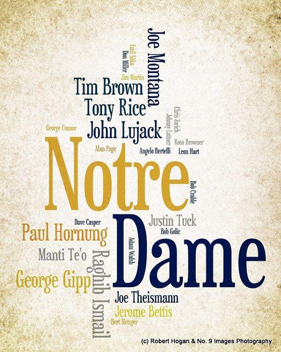 Notre Dame University Fightin' Irish Greatest
