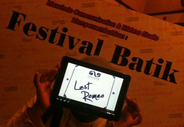 #LastRomeo joined at the Festifal Batik ^^