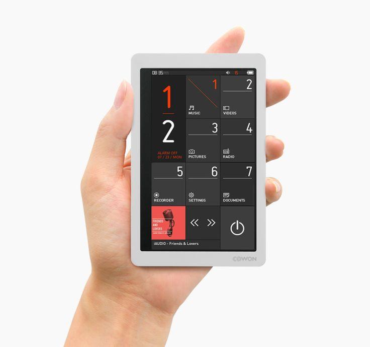 Cowon x9 mp3 player | Designer: Cowon Systems