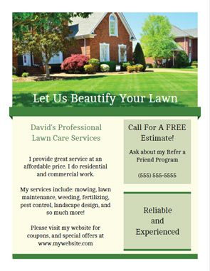 lawn service website template