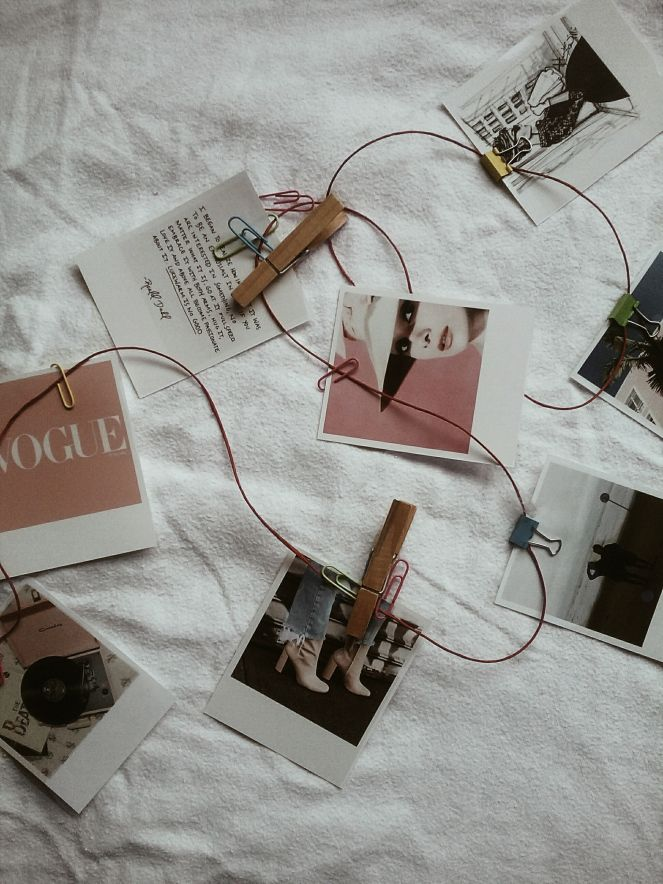 DIY - room decoration #squaredone #doityourself #developedphoto