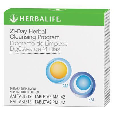Herbalife 21-Day Herbal Cleansing Program  via blog NutritionUCGIBlog.com & Twitter: @Bahram Khandan