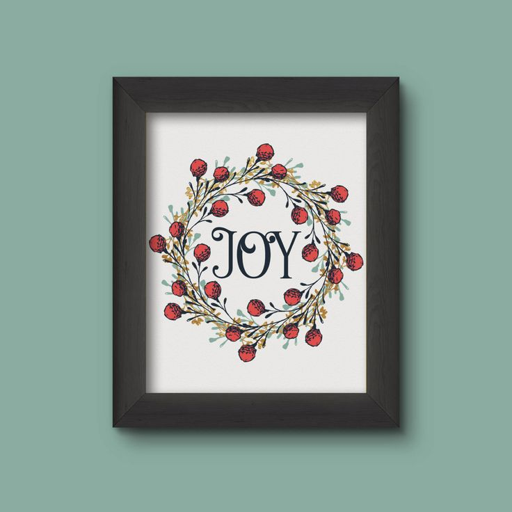 Joy Festive Wall Art, Gold Foil, Instant Download, Printable, Decor, Christmas Decor, 300DPI, JPEG, Living Room Decor, by DesignableSupplies on Etsy