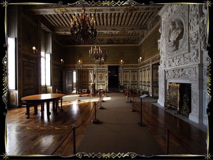 24 best FRancis I gallery images on Pinterest Fresco, Video clip - chambre des metiers de seine et marne