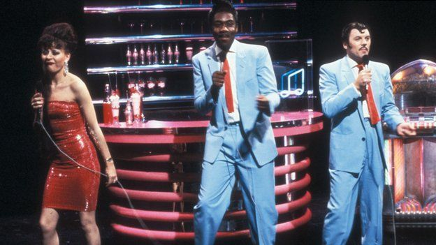 Tracey Ullman, Lenny Henry and David Copperfield