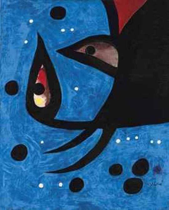 Juan Miro (Spanish, 1893-1983) - Head, Landscape, Constellations, 1974