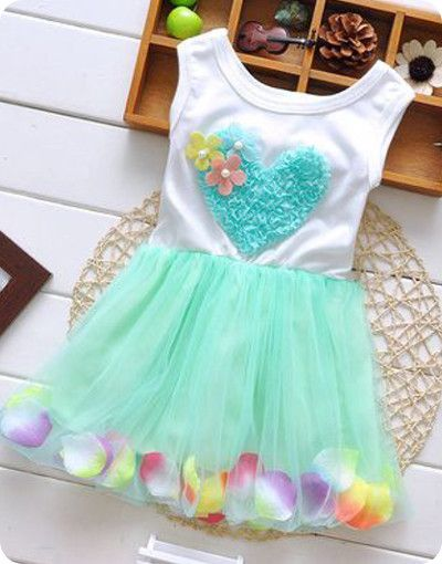Hearts and Flowers Dress – Poppatosh