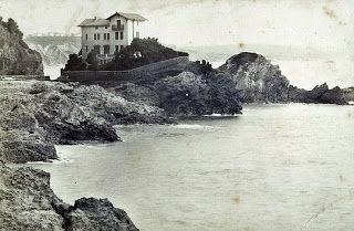 Le Pays Basque d'hier à aujourd'hui: La Villa Belza à Biarritz