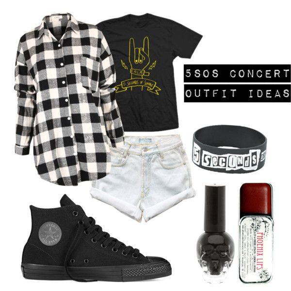 5sos Concert Outfit Ideas