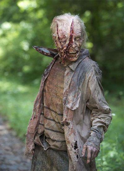Halloween Zombie Face Makeup