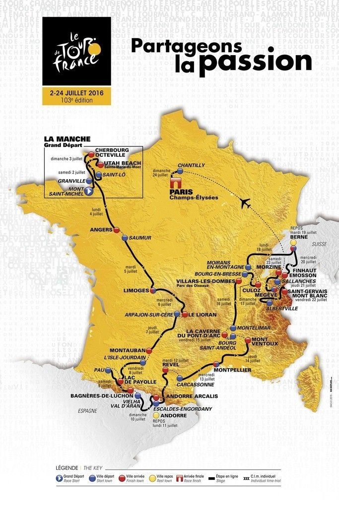 2016年ツール・ド・フランス、見所はアルプス最高峰モンブラン。 国際ニュース:AFPBB News #TDF2016 #rm_112