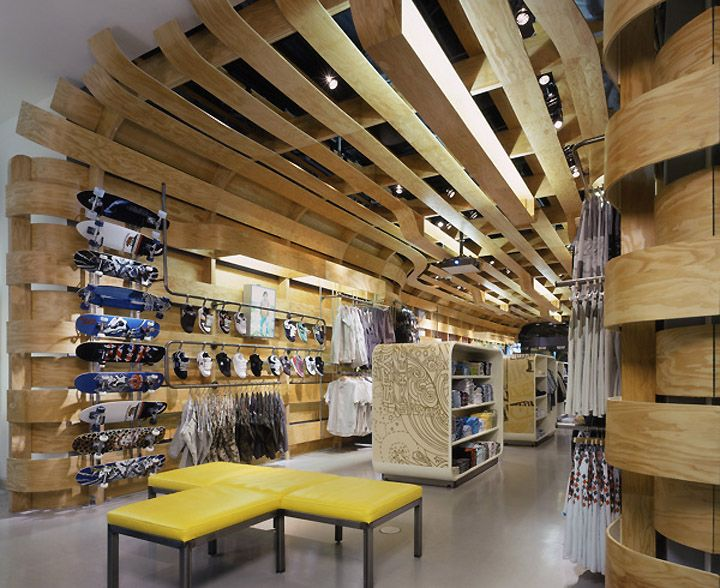 Quiksilver Young Mens Store By Clive Wilkinson Architects