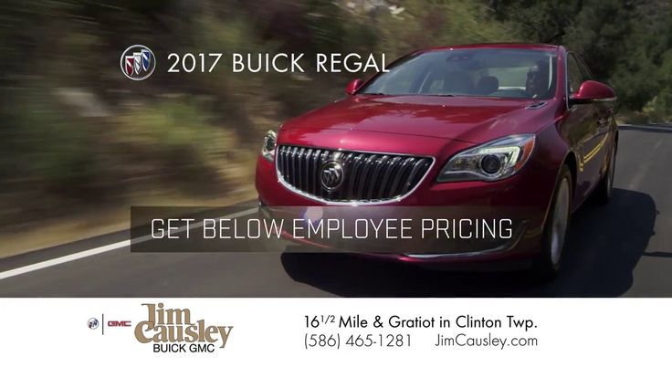 2017 Buick Regal: Jim Causley Buick GMC Summer SellDown Sales Event