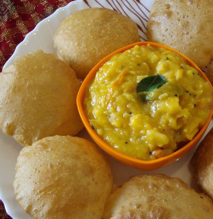 Tasty Appetite: Poori Masala