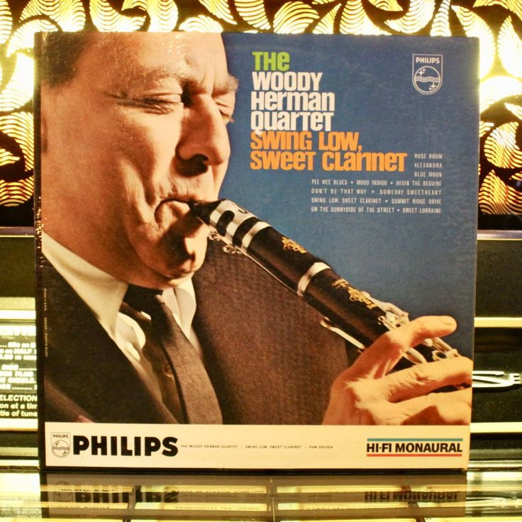 RARE: The Woody Herman Quartet - Swing Low, Sweet Clarinet - Jazz Vinyl Record - Music On Vinyl - Vintage Vinyl Records by VinylLoversUnite on Etsy