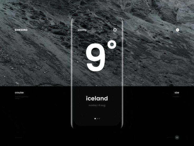 Samsung : weather by Stugbear.