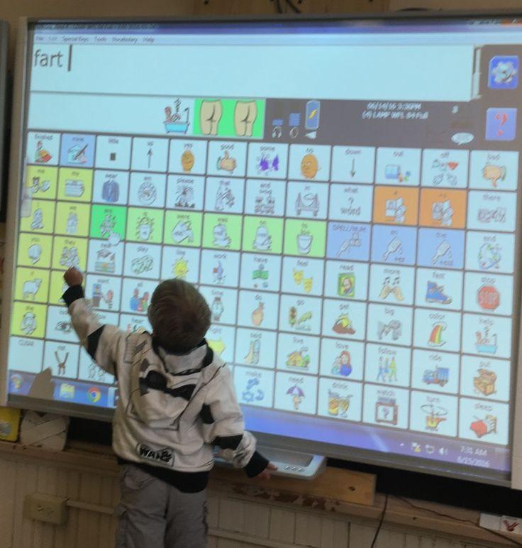 Immersive AAC Classroom from https://lindseysaacblog.wordpress.com/author/lindseysaacblog/ by Lindsey Paden Cargill