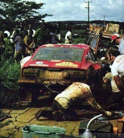 Rauno Aaltonen, Datsun 240Z, '71 East Safari Rally