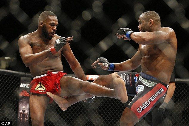 Cormier (right) lost to Jones at UFC 182 in January 2015, but will have to wait for anothe...
