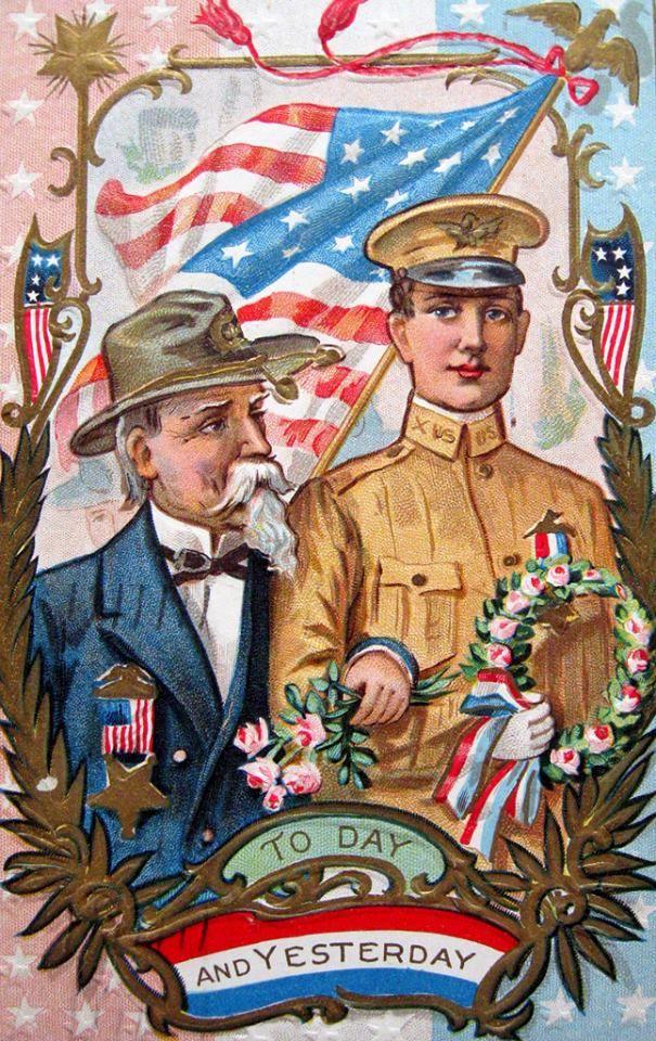157 best Vintage Memorial Day images on Pinterest | Old cards, Post ...