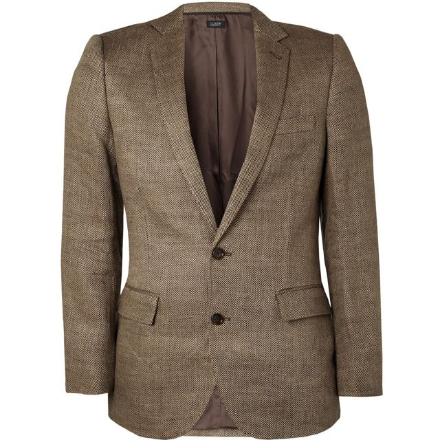 (I consider the fact that this is a linen jacket to be irrelevant. It looks  tweed.