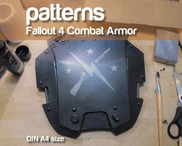 Fallout 4 Combat Armor patterns – PDF/DIN A4 size                                                                                                                                                                                 More