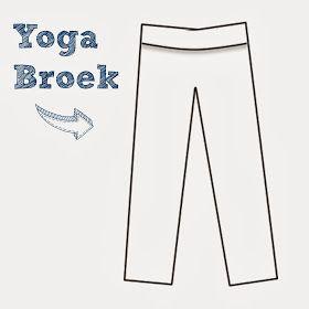 Sew Natural Blog: Patroon Variatie: Maak een Yoga Broek