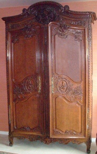 Les 8 meilleures images du tableau meubles et faiences de normandie sur pinterest faience - Prix d une armoire normande ...
