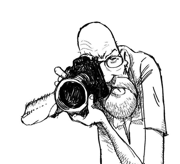 Self portrait / caricature
