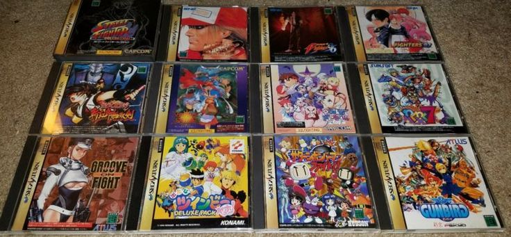 Japanese Sega Saturn Game Lot  #retrogaming #HotSS  Auction from the US with Saturn Bomberman Fight!! Gunbird Waku Waku 7 KOF 96 and 97 Twinbee Deluxe Pack Street Fighter Collection Vapmire Savior etc.