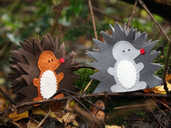 hedgehog puppet to make - Google Search
