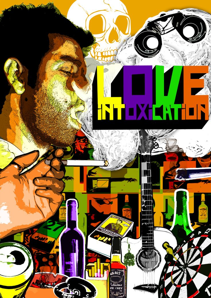 Movie Poster 'Love Intoxication' - 2