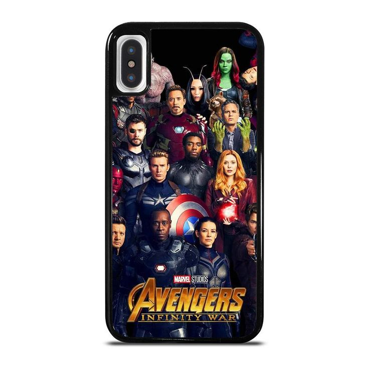 Avengers infinity war marvel iphone x xs case cover di 2020