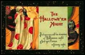 Google Image Result for http://www.antiquetrader.com/wp-content/uploads/PC-3-14-10557.jpgGoogle Image, Vintage Halloween, Hallows Eve, Vickrey Zare, Shabby Hallows, Halloween Vintage, Halloween Postcards, Halloween Ideas, Urban Salvaged