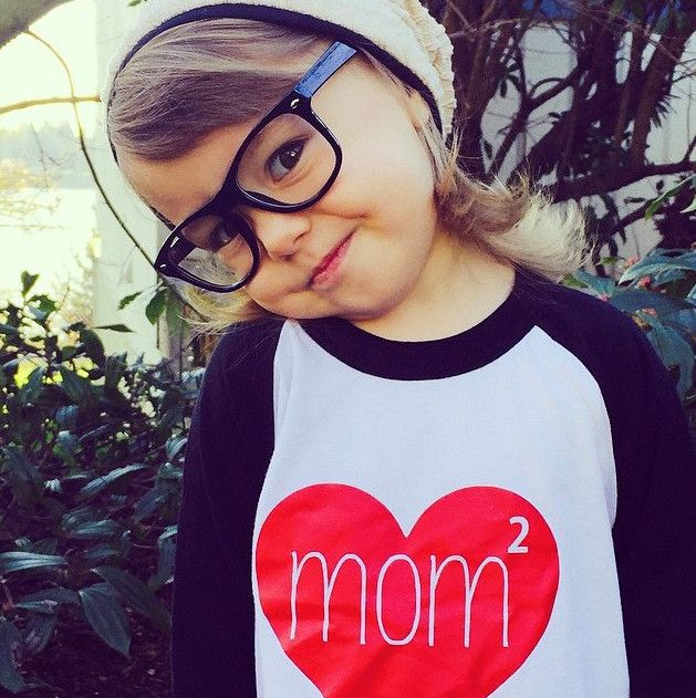 What's better than one mom? Two moms and this Mom Squared shirt from Imaginemint!