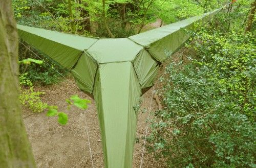 Tentsile Tents Take Things Off The Ground Looks good for small people what about the real people that go camping?
